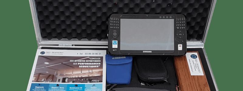 Kit acousticien sonomètre pour mesures acoustiques